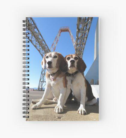 Indomitabeagle Spiral Notebook