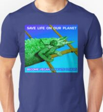SAVE LIFE ON OUR PLANET - CHAMELEON. T-Shirt