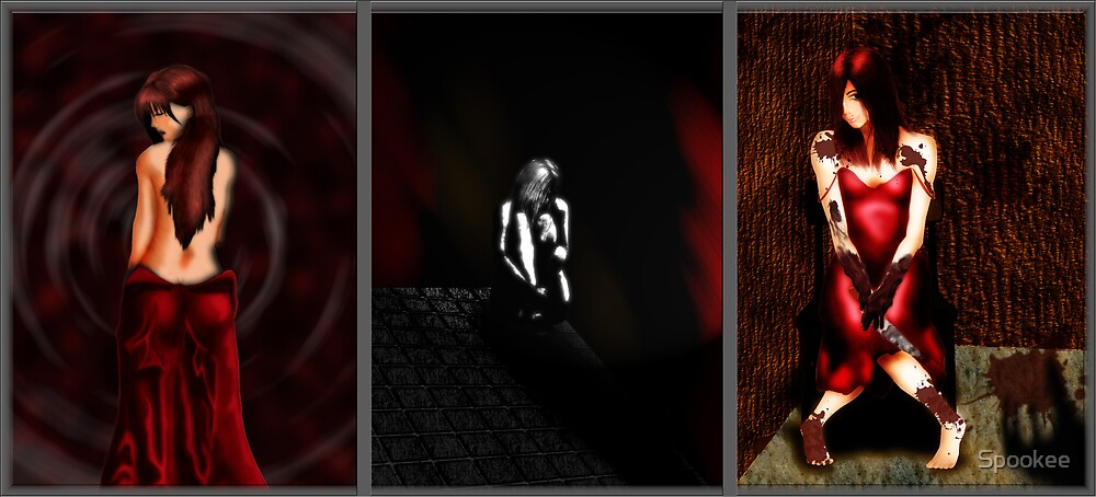 Facade Triptych by Spookee