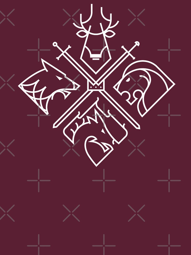 Game of Thrones Häuser von LunaBlueMom