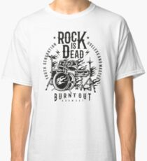 Rock Drums Retro Vintage Classic T-Shirt