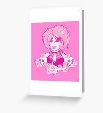 Daisy Witch Greeting Card