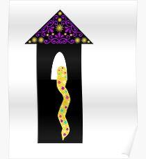 Rapunzel Tangled Inspired Poster