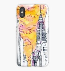 New York Sunset  iPhone Case