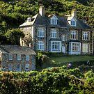 Doc Martin's Surgery. Port Isaac. Cornwall. UK by hans p olsen