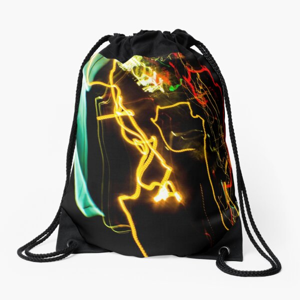 Use Your Words Drawstring Bag