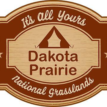 Dakota Prairie Grasslands by ginkgotees