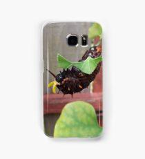 Dutchman's Pipe Vine Caterpillar 2 Samsung Galaxy Case/Skin