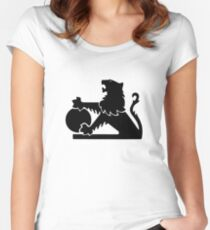 Old Holden Logo Women's Fitted Scoop T-Shirt