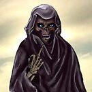 Grim Reaper Flipping the Bird by Alanpearce