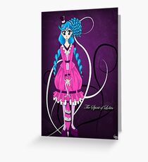 The Spirit of Lolita Greeting Card