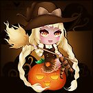 Punkin Chibi Witch - 2017 by devicatoutlet