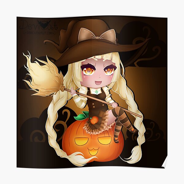 Punkin Chibi Witch - 2017 Poster