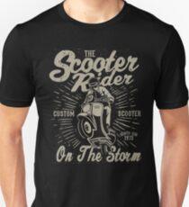 Scooter Rider Retro Vintage Unisex T-Shirt