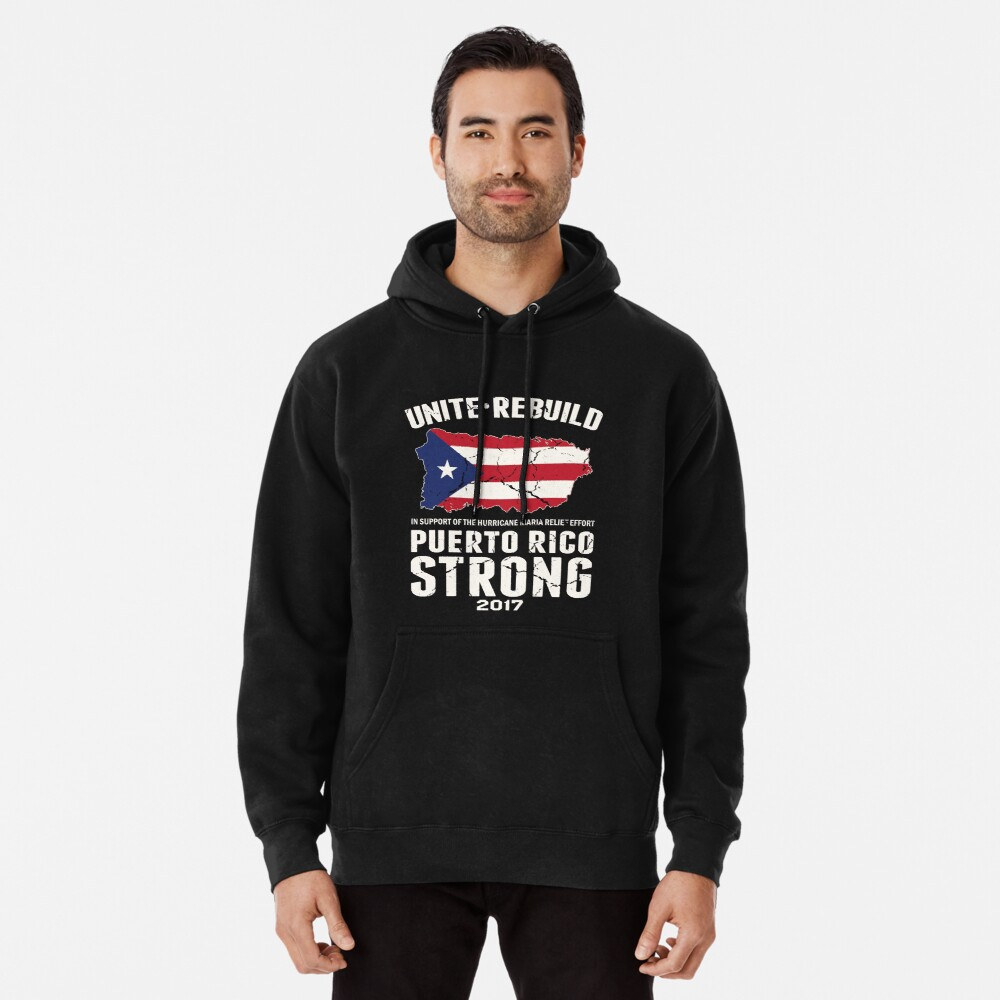 Puerto Rico Hurricane Relief Unisex Tanktop Tshirt Hoodie