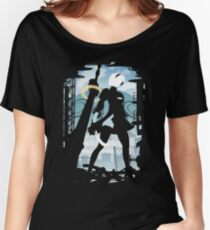 Nier Automata - 2B Women's Relaxed Fit T-Shirt