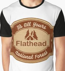 Deerlodge National Forest Graphic T-Shirt