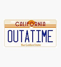 OUTATIME pixel plate Photographic Print