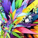 Angular Degeneration - Watercolor by jeffjag