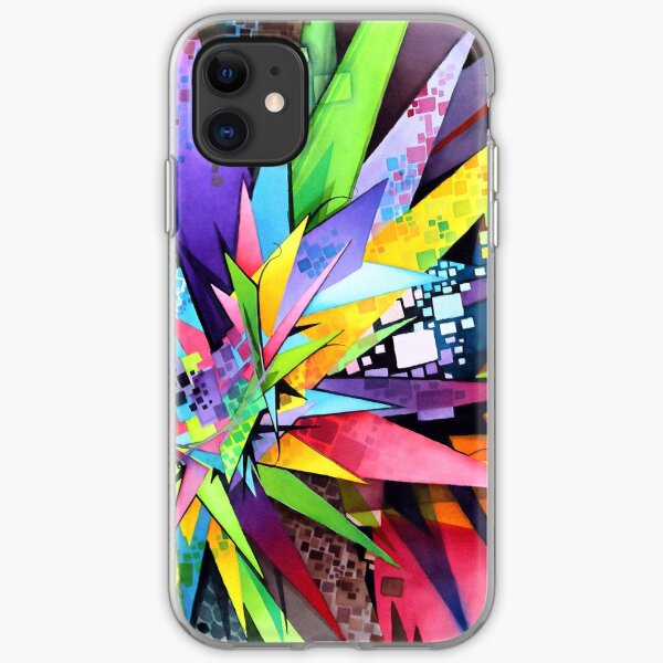 Angular Degeneration - Watercolor iPhone Soft Case