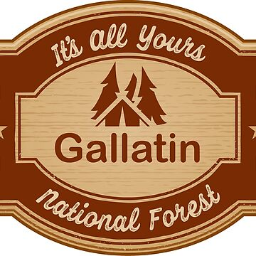Gallatin National Forest by ginkgotees