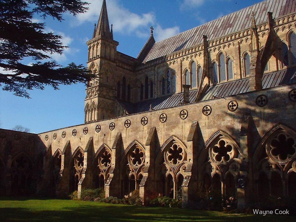 Salisbury Cathedral by Wayne Cook