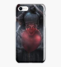 PENNYWISE WITH BALLOONS iPhone Case/Skin