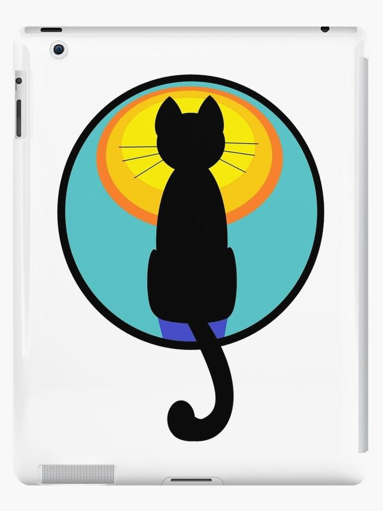 Moonstruck Cat by Jean Gregory  Evans