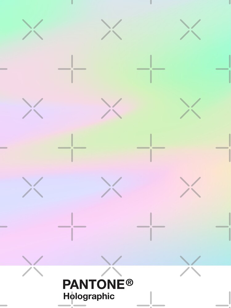 H.I.P.A.B - Holographic Iridescent Pantone Aesthetic Background pt 4 by heathaze