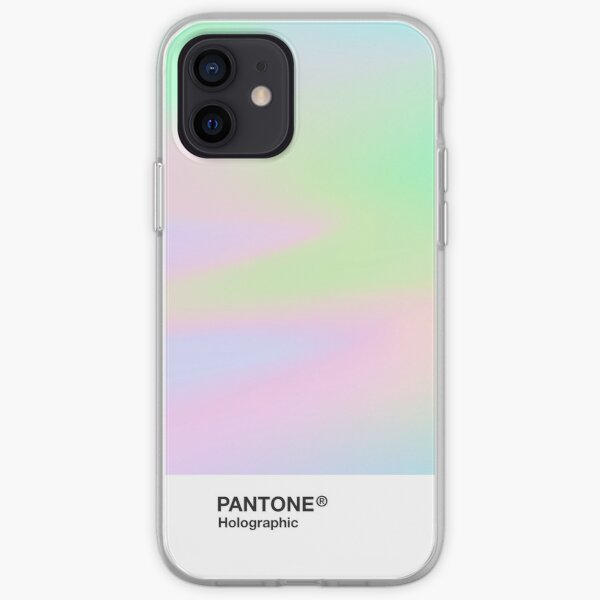 H.I.P.A.B - Holographic Iridescent Pantone Aesthetic Background pt 4 iPhone Soft Case