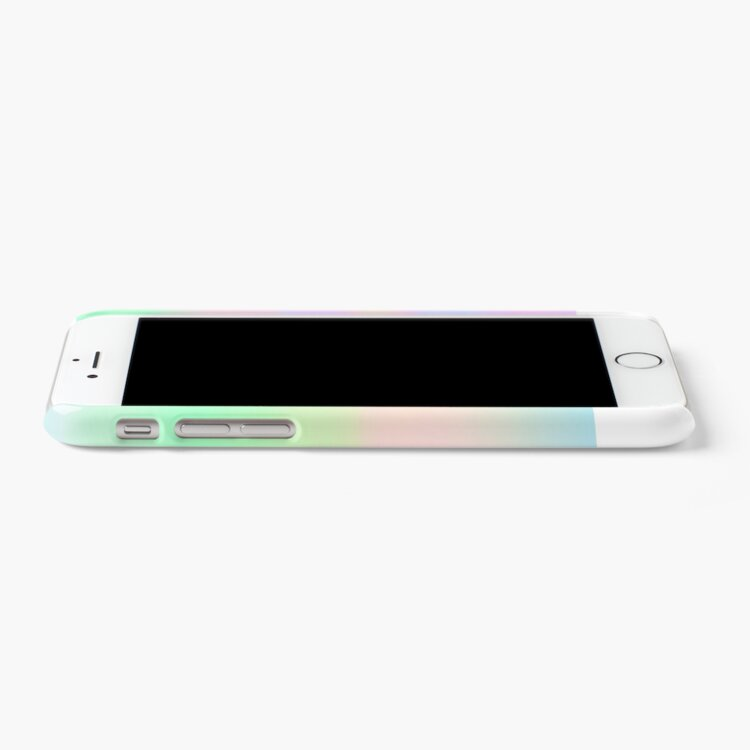 Alternate view of H.I.P.A.B - Holographic Iridescent Pantone Aesthetic Background pt 4 iPhone Case & Cover