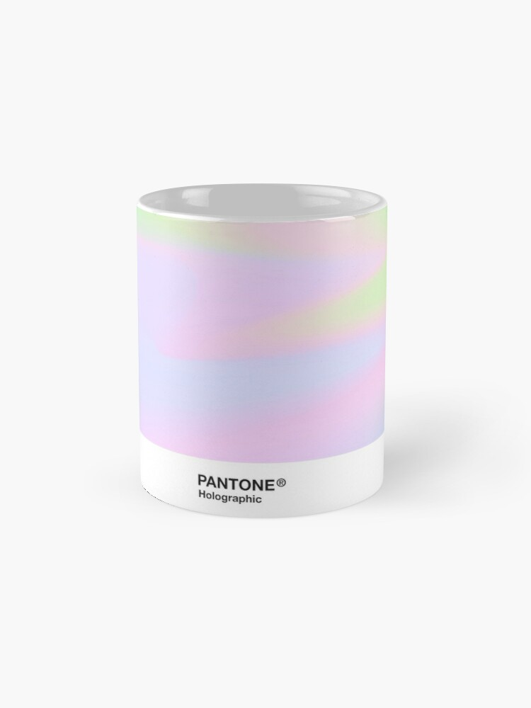 Alternate view of H.I.P.A.B - Holographic Iridescent Pantone Aesthetic Background pt 4 Mug