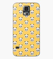 Animinimal Panda (yellow) Case/Skin for Samsung Galaxy