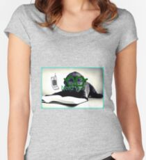 Nerd yes Women's Fitted Scoop T-Shirt