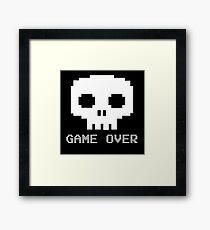 Game Over - Try Again? Framed Print