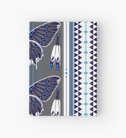 Butterfly Nation Blue Hardcover Journal
