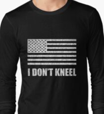 Tomi Lahren - #iStand - I Don't Kneel Long Sleeve T-Shirt