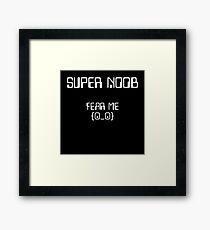 Super Noob 3000 Framed Print