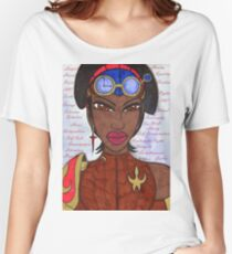The Reasons of a Steampunk Liberator Women's Relaxed Fit T-Shirt