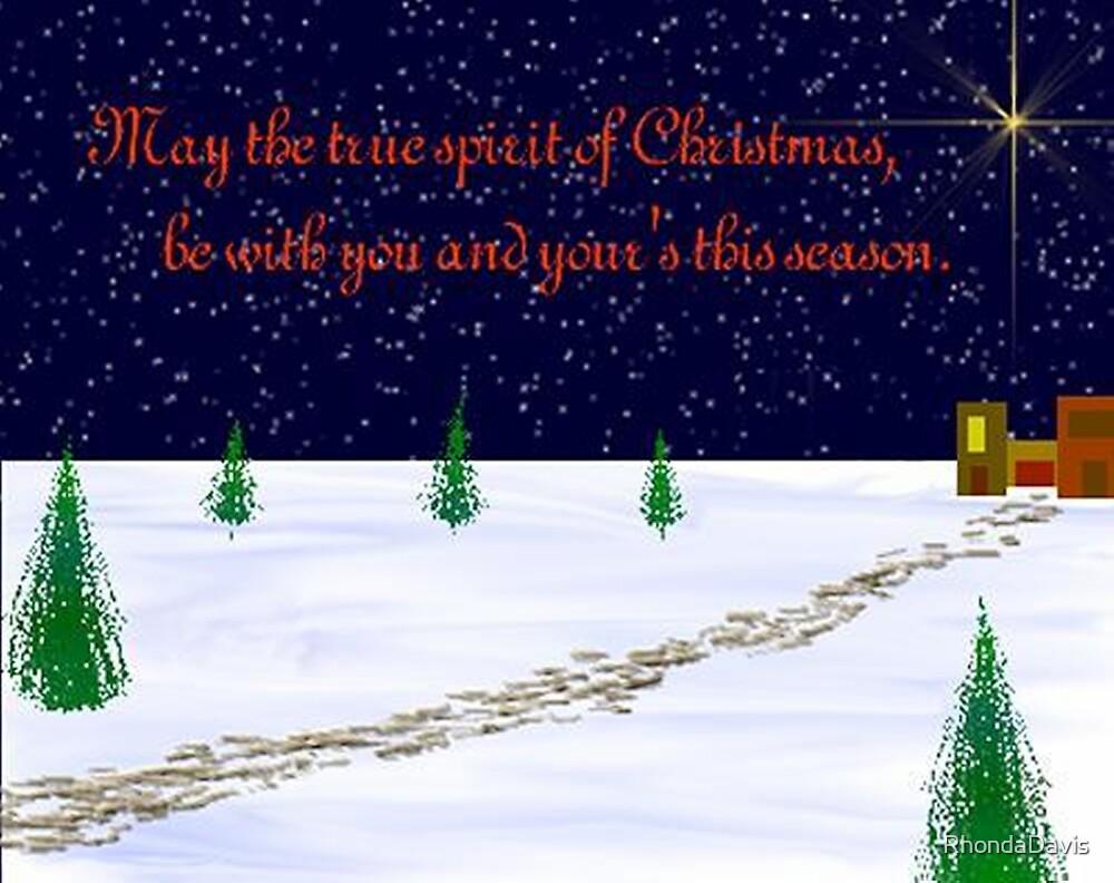 Christmas Greetings by RhondaDavis