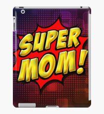 Super Mom iPad Case/Skin