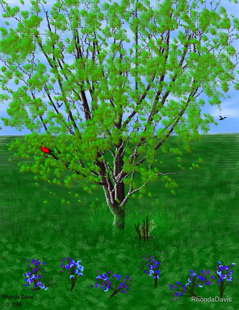 Grand Tree by RhondaDavis