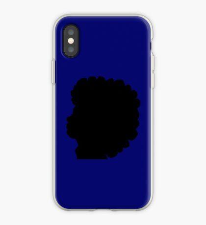 Natürliches Afro-Haar Schwarze Frauen iPhone-Hülle & Cover