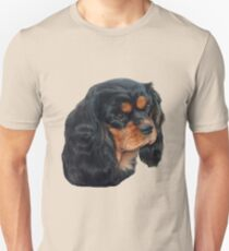 Black & Tan Cavalier King Charles Spaniel Unisex T-Shirt