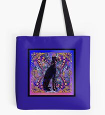 A Greyhound In the Matrix Tote Bag