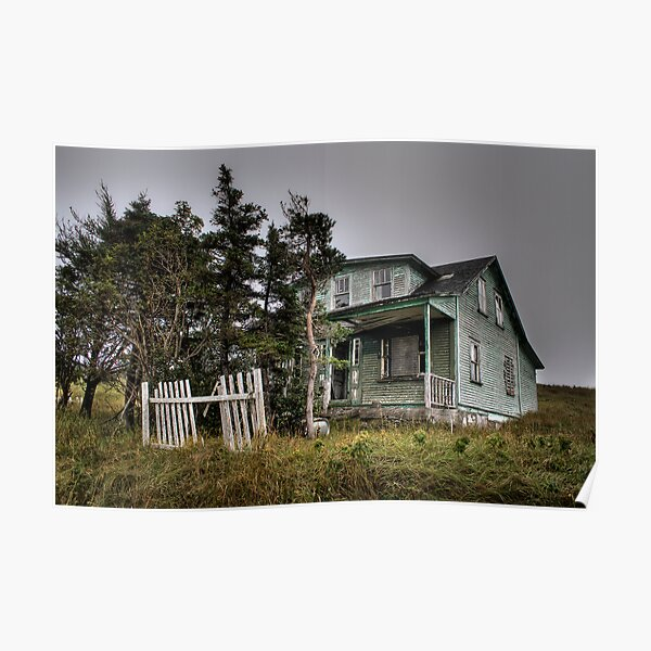 Haunted House On The Prairie Poster