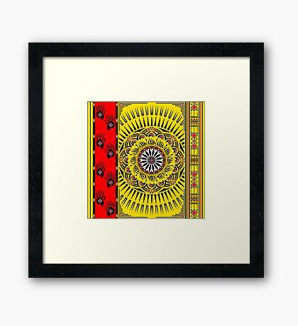 Sun Bear  Framed Print