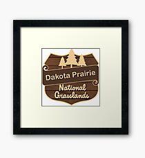 Dakota Prairie Grasslands Framed Print