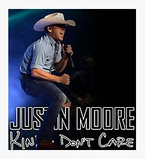 Justin Moore tour 2017 Photographic Print