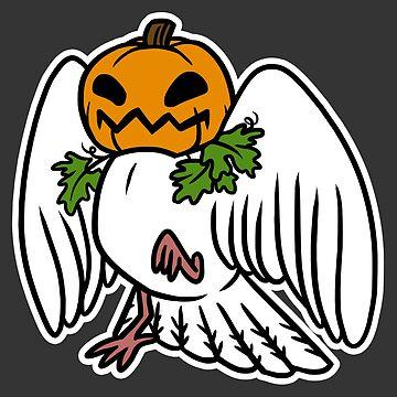 Spooky Birds - Pumpkin II by kiriska